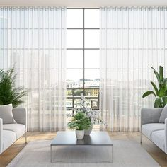 S-Fold Paraiso Voile Steel Curtains Wave Curtains, Voile Curtains, Curtains With Blinds, Window Coverings, Window Treatments, Counselling Room, Neutral Curtains, Blinds Online, Houses