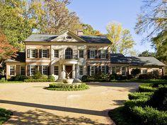 Atlanta homes Casas En Atlanta, Atlanta Homes, Southern Homes, Big Houses, House Goals, My Dream Home, Curb Appeal, Future House, Luxury Homes