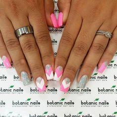 Glitter nail art designs for beginners