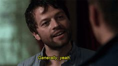 "One of my favorite Castiel sayings - Why Castiel Is Everyone's Favorite On ""Supernatural"""