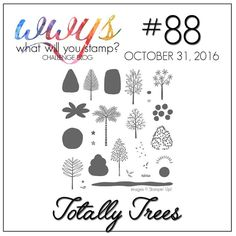 GaGa Papercrafts | Totally Trees (Without the Trees) Card for WWYS #88 | Click on the image to see more from GaGa Papercrafts. #gagapapercrafts #stampinp #wwys #totallytrees #stamps #cards