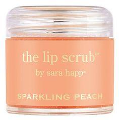 awesome lip scrub - sparkling peach  http://rstyle.me/n/ff6yqpdpe