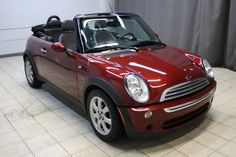 2008 Nightfire Red Metallic Mini Cooper Convertible for Sale http://www.iseecars.com/used-cars/used-mini-cooper-convertible-for-sale