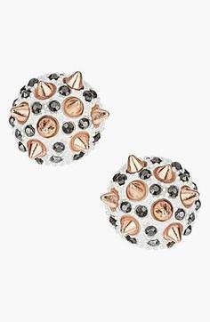 'Spike Stone' Stud Earrings