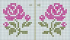 This post was discovered by Heike Deckert. Discover (and save!) your own Posts on Unirazi. Tiny Cross Stitch, Cross Stitch Cards, Simple Cross Stitch, Cross Stitch Borders, Cross Stitch Alphabet, Cross Stitch Flowers, Cross Stitch Designs, Cross Stitching, Cross Stitch Embroidery