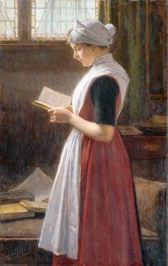 Orphan Girl from Amsterdam. Nicolaas van der Waay (Dutch, 1855-1936).