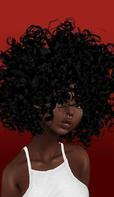33 trendy ideas for hair drawing afro black girls Black Love Art, Black Girl Art, Art Girl, Black Girl Magic, Black Art Painting, Black Artwork, Natural Hair Art, Natural Hair Styles, Natural Hair Memes