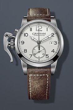 Graham Chronofighter 1695 Watch CHRONOFIGHT 2CXAS.S01AL 2CXAS.B01ABL 2CXAS.S01ABL Graham, Watches, Silver, Accessories, Wristwatches, Money, Clocks, Jewelry