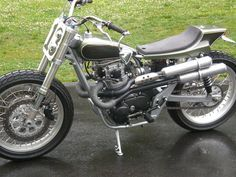 street tracker – Motorcycle Photo Of The Day Flat Track Motorcycle, Tracker Motorcycle, Yamaha Virago, Yamaha Motorcycles, Street Tracker, Biking With Dog, Street Scrambler, Bike Rally, Flat Tracker