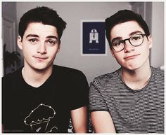 Finn and Jack Harries
