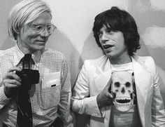 Andy with Mick