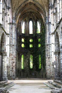 Photo by Francisco Mugnai / Ivy ruins by John Neville Cohen the World's Most Beautiful Abandoned Places