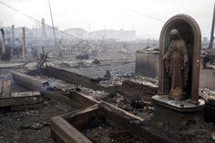 En fotos: así es el día después del paso de la Supertormenta