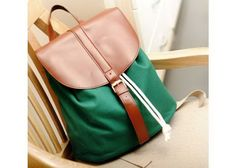 Casual Women s Satchel With Buckle and Color Matching Design (Casual Women s Satchel With Buckle and Color Matching Design) by www.irockbags.com
