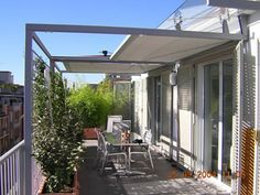 Awnings by sunair retractable awnings deck awnings for Kit portico anteriore in vendita
