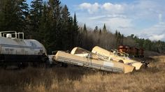 - Train derails outside Spanish, Ontario - more than a dozen cars off track west of Sudbury: Company Ontario, The Outsiders, Spanish, Canada, Cars, Train, Autos, Vehicles, Automobile
