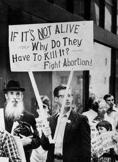 """If """"It"""" Is Not Alive...Why Do They Have To Kill It? With Conception There Is A Child, A Living Person."""