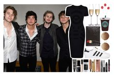 """5th member - At the Capitol Records Hollywood Gala w/ the boys"" by virain ❤ liked on Polyvore featuring McQ by Alexander McQueen, MAKE UP FOR EVER, Too Faced Cosmetics, Clinique, Urban Decay, Stila, adidas Originals, Lulu Guinness, Victoria Beckham and RogaÅ¡ka"