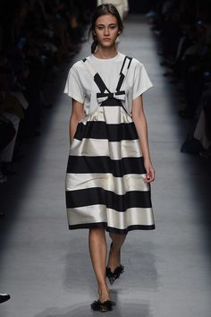 Pinafore + T--Rochas Spring 2016