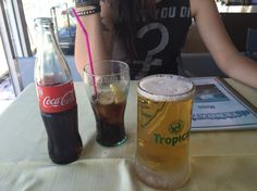 Coca and beer