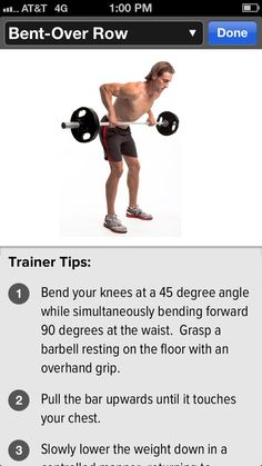 Bent Over Row shoulder workout #gainfitness #shoulders Download the GAIN Fitness app for HD motion instructions.