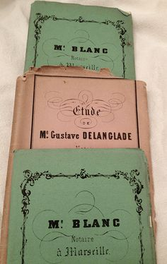 French notaire documents  xo--FleaingFrance