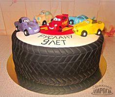 Cake Торт Тачки / Cars https://vk.com/svetkintort