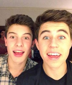 Nash and SHAWN!!!!!  I love shawn even tho I'm emo