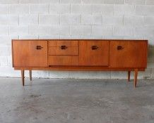 Nathan Corinthian Sideboard - The Vintage Shop Mid Century Modern Sideboard, Retro Sideboard, Credenza, Corinthian, Auckland, Vintage Shops, Mid-century Modern, Furniture, Home Decor