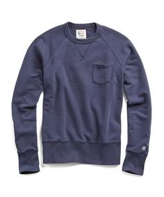 Classic Garment Dyed Sweatshirt in Navy