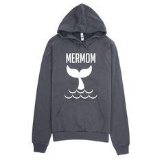 Mermom mermaid tail Hoodie