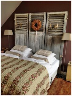 Margot/Pagina 13van30 Shutters, Sweet Home, Bed, Furniture, Home Decor, Blinds, Shades, Decoration Home, House Beautiful