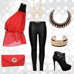 """clubbing"" by milky-silvers on Polyvore"