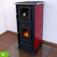 Esus stove modern stove with a clear, round shape particularly tall model with a very large viewing window dur Stove Fireplace, Diy Fireplace, Modern Stoves, Steel Plate, Home Appliances, Cottage, Cabin, Windows, Architecture