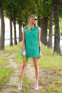 vestido: martha medeiros clutch: charlotte olympia sandalia: luiza barcelos
