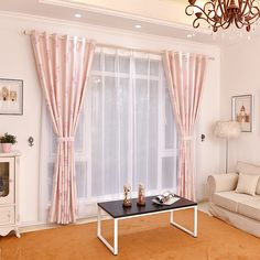 Custom Made Leaf Pink Jacquard Blackout Curtains for Living Room/Bedroom Princess Window Treatment Cloth Curtains Girl living room décor ** AliExpress Affiliate's Pin. Check this awesome product by going to the link at the image. Living Room Bedroom, Living Room Decor, Blackout Curtains, Girls Shopping, Decoration, Lighting Ideas, Window Treatments, Home Office, Custom Made