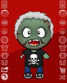 App of the Week: Make a Zombie - Pinned by @PediaStaff – Please Visit ht.ly/63sNtfor all our pediatric therapy pins
