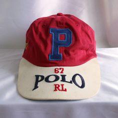 Vintage Ralph Lauren Polo Sport USA 67 RL on Rim Hat by Vtg90s #hiphop #rap #polosport #ralphlauren #usaflag #rl67 #pwing #vtg90s #stadium92 #1992 #sportsman