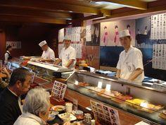 Sushi restaurant in Kyoto