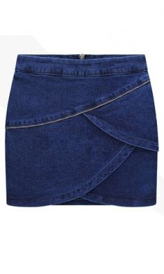 e2b277628a3 Slim-fit denim skirt B977 Jean Skirt