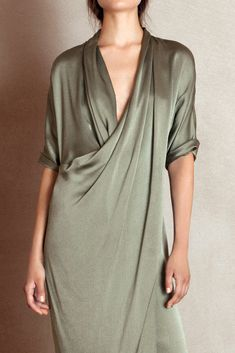Cortana, cozy dress, silk, flow dress