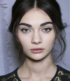 thick eyebrow shapes for round faces - Google Search