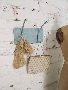 Painted Cottage Chic Shabby Hooks HDGAI2 by paintedcottages