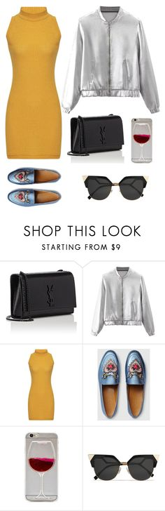 """a"" by ida-1997 ❤ liked on Polyvore featuring Yves Saint Laurent, Gucci and Fendi"