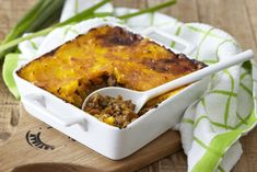 Cottage Pie Topped with Butternut and Potato Mash