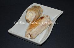 Involtini di tacchino, feta e olive taggiasche