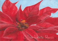 the Fine Art and Ramblings of Lisa Isabella Russo: An Original Red ...