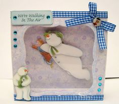 Dream Laine: Snowman Cards for Crafter's Companion
