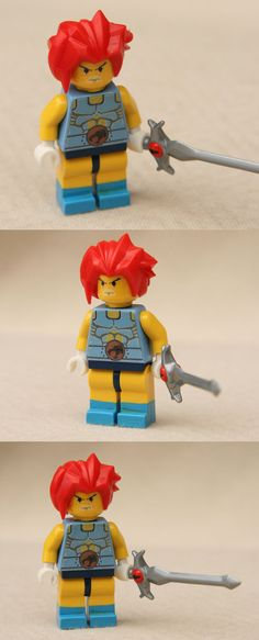 LEGO Lion-O minifig by ~Mace2006 on deviantART