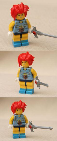 LEGO Lion-O minifig by ~Mace2006 on deviantART
